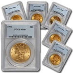 $20 Gold Liberty Double Eagle - MS-64 PCGS