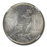 1924-S Peace Dollar MS-61 NGC