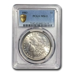 1883 Morgan Dollar - MS-65 PCGS