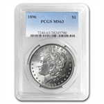 1896 Morgan Dollar - MS-63 PCGS