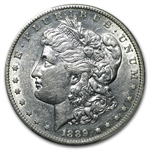 1889-S Morgan Dollar - Almost Uncirculated