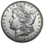 1889-S Morgan Dollar - Uncirculated Details - Obverse Scratched
