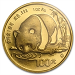 1987-S 1 oz Gold Chinese Panda (Sealed)