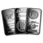 5 oz Silver Bar (Secondary Market) .999 Fine