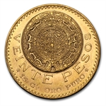 Gold Mexican 20 Pesos AGW .4823