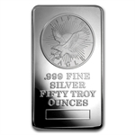 50 oz Sunshine Minting Struck Silver Bar .999 Fine