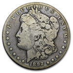 1892-CC Morgan Dollar - Fine