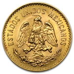 Gold Mexican 5 Pesos AGW .1205