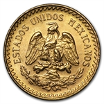 Gold Mexican 2 1/2 Pesos AGW .0603
