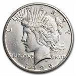 1925-S Peace Dollar - Brilliant Uncirculated