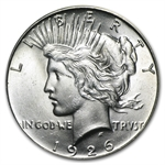 1926 Peace Dollar - Brilliant Uncirculated