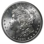 1881-S Morgan Dollar - MS-65 PCGS