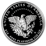 2005-W 1/10 oz Proof Platinum American Eagle (w/Box & CoA)