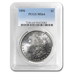 1896 Morgan Dollar - MS-64 PCGS