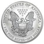 1996 1 oz Silver American Eagle (Brilliant Uncirculated)