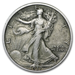 1917 Walking Liberty Half Dollar - Extra Fine