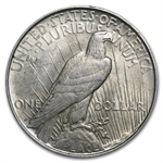 1922-1935 Peace Silver Dollar (Almost Uncirculated)