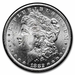 1882-CC Morgan Dollar Brilliant Uncirculated - GSA Holder