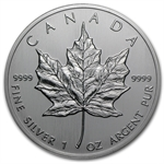 1988 1 oz Silver Canadian Maple Leaf (Brilliant Uncirculated)