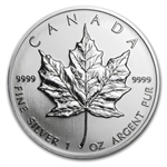 1993 1 oz Silver Canadian Maple Leaf (Brilliant Uncirculated)