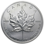 2003 1 oz Silver Canadian Maple Leaf (Brilliant Uncirculated)