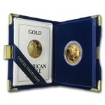 1992-P 1/2 oz Proof Gold American Eagle (w/Box & CoA)