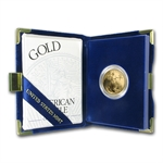 1997-W 1/2 oz Proof Gold American Eagle (w/Box & CoA)