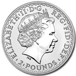 2002 1 oz Silver Britannia (Brilliant Uncirculated)