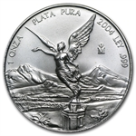 2004 1 oz Silver Mexican Libertad (Brilliant Uncirculated)