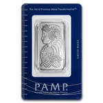 1 oz Pamp Suisse Palladium Bar (In Assay) .999+ Fine