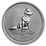 2006 1/2 oz Silver Lunar Year of the Dog (Series I)