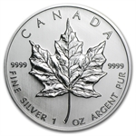 2005 1 oz Silver Canadian Maple Leaf (Brilliant Uncirculated)