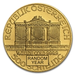 1/4 oz Gold Austrian Philharmonic - Random Year