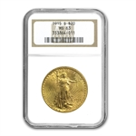 1915-S $20 St. Gaudens Gold Double Eagle - MS-63 NGC