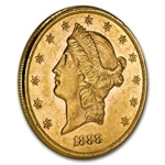 $20 Liberty Gold Double Eagle - Almost Uncirculated