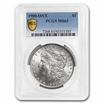 1900-O/CC Morgan Dollar MS-63 PCGS