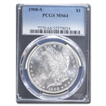 1900-S Morgan Dollar MS-64 PCGS
