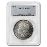 1879 Morgan Dollar - MS-63 PCGS
