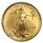 1998 1/10 oz Gold American Eagle MS-69 PCGS