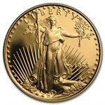 1993-P 1/4 oz Proof Gold American Eagle (w/Box & CoA)