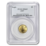 1997 1/10 oz Gold American Eagle MS-69 PCGS