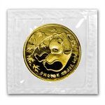 1985 (1/10 oz) Gold Chinese Pandas - (Sealed)