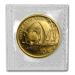 1987-S (1/10 oz) Gold Chinese Pandas - (Sealed)
