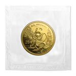 1991 (1/4 oz) Gold Chinese Pandas - Small Date (Sealed)