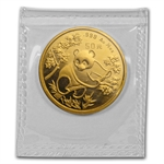 1992 (1/2 oz) Gold Chinese Pandas - Small Date (Sealed)