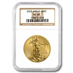 2003 1 oz Gold American Eagle MS-69 NGC