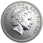 2000 1 oz Silver Britannia (Brilliant Uncirculated)