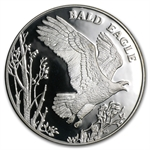 2003 Nat. Wildlife Refuge System Proof Silver Medal - Bald Eagle