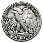 1919-S - Fine - Walking Liberty Half Dollar