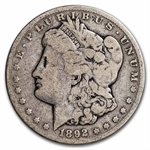 1892-CC Morgan Dollar - Very Good